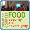 Summer Courses on Food Security, Aid and Sovereignty